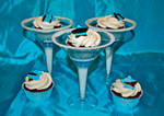 21st birthday martini glass cupcakes by Keep-It-Sweet