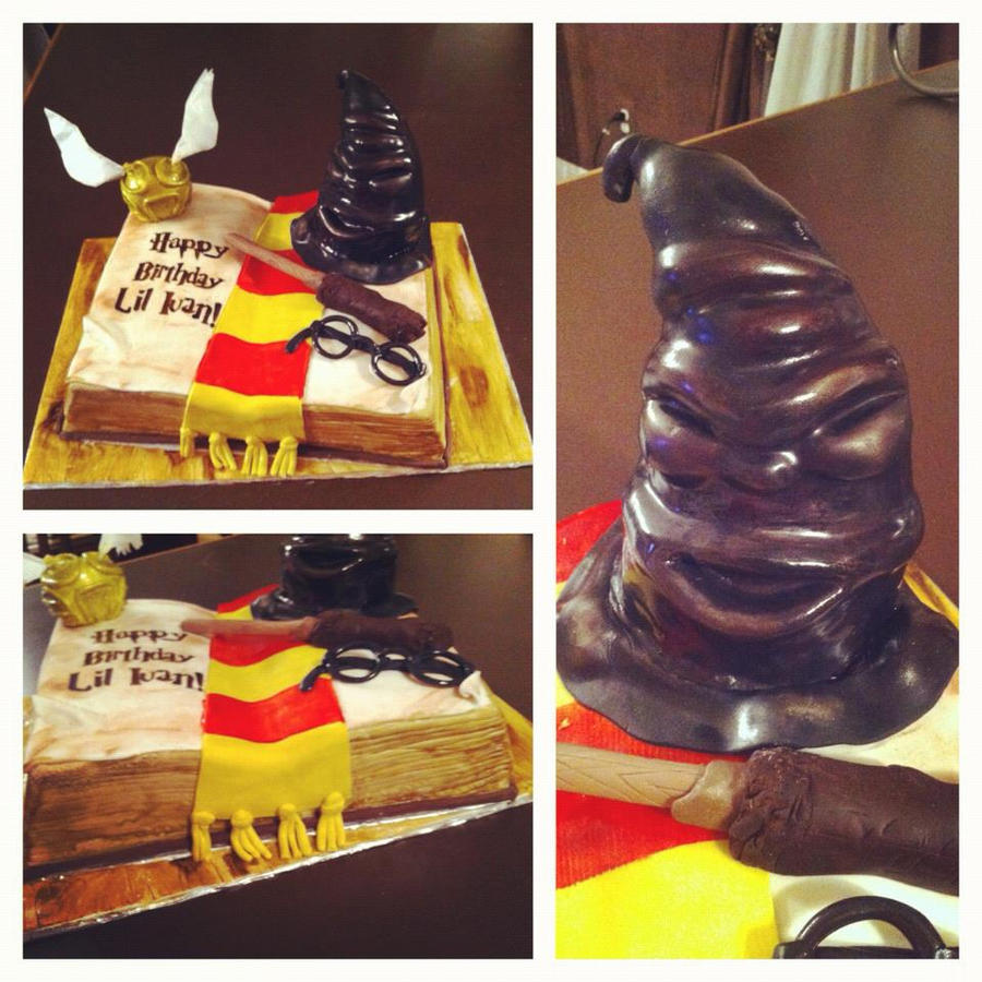 Harry Potter Cake by Keep-It-Sweet