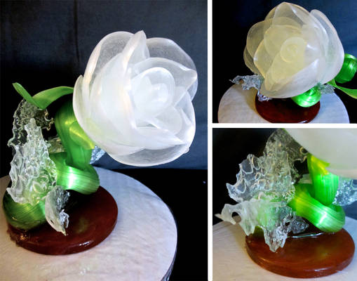 Pulled Sugar Flower