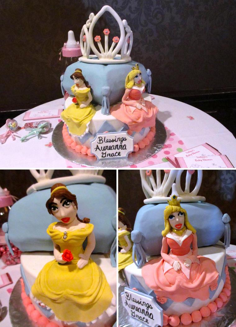 Princess Baby Shower Cake By Keep It Sweet ...