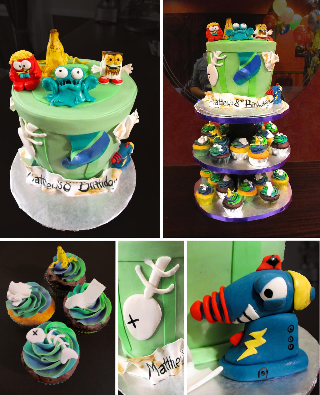 TrashPack Cake by Keep-It-Sweet