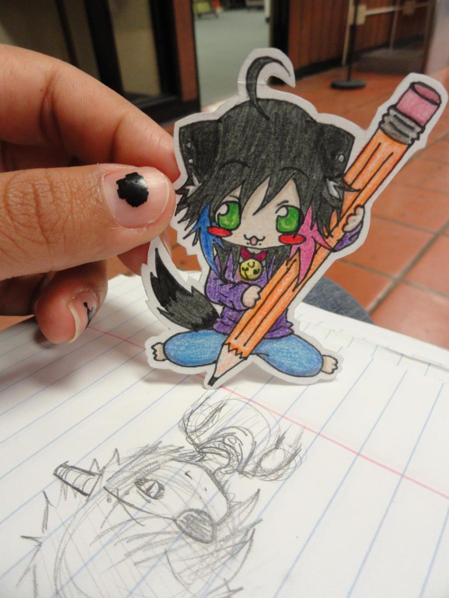 Big Pencil by Megumi-Kawairashii