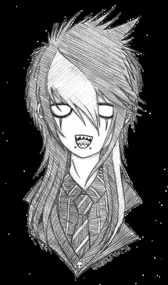 DemiseMAN's Hair 2 by Megumi-Kawairashii