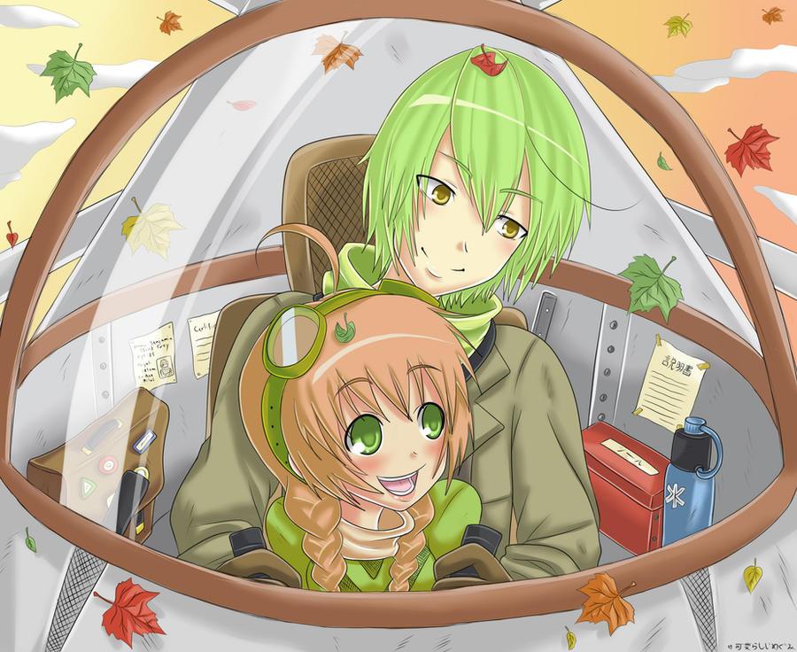 Leafy Ride by Megumi-Kawairashii