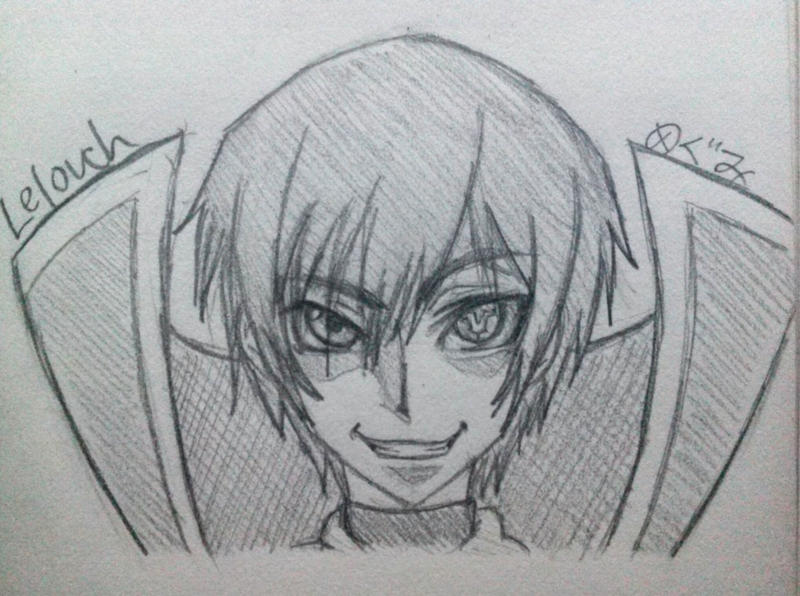 Lelouch of the Rebellion by Megumi-Kawairashii