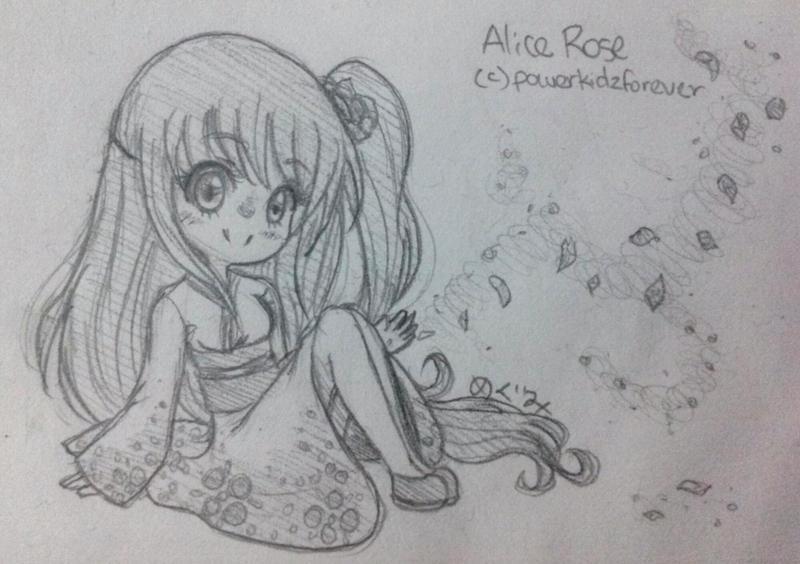 Alice Rose by Megumi-Kawairashii