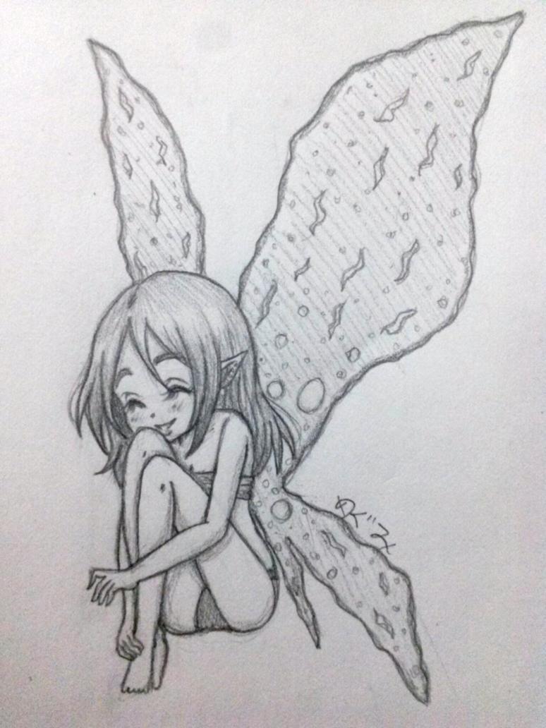 Remake of Fairy Trish by Megumi-Kawairashii