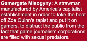 Gamergate Misogyny