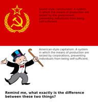 Communism vs. Capitalism by Phracker