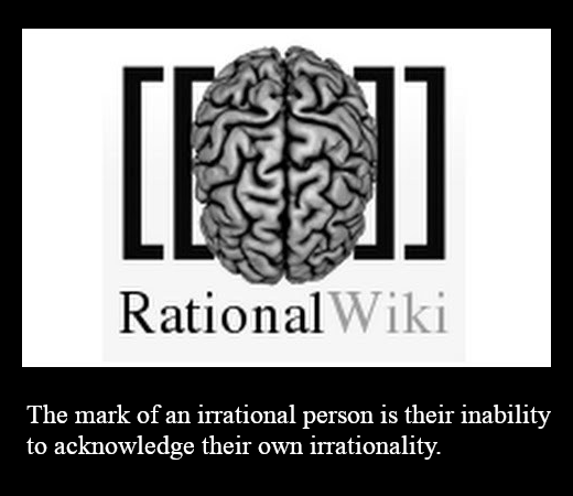 Image result for rationalwiki is irrational