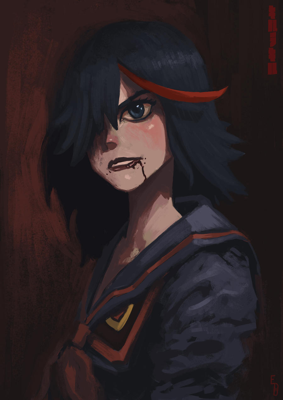 Ryuko Matoi by EdwardDelandreArt