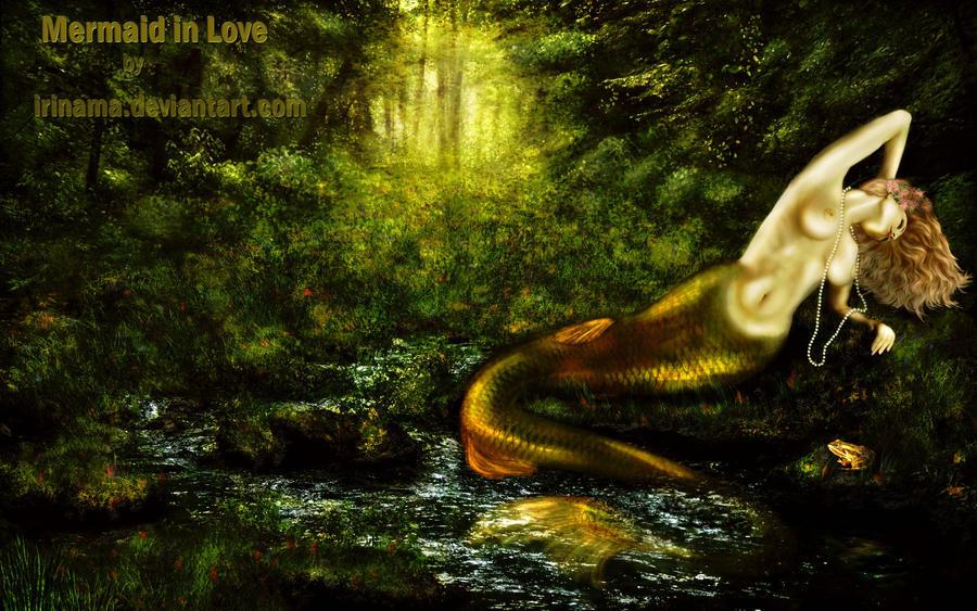Mermaid in Love by irinama