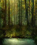 BG Fantasy Forest Stock