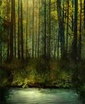 BG Fantasy Forest Stock