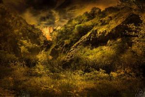 BG Castle Fantasy Stock by irinama
