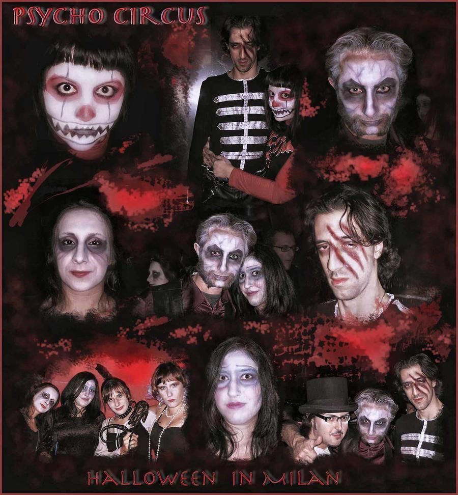 Halloween  with my friends by irinama