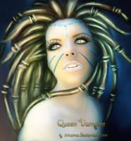Queen Vampire by irinama