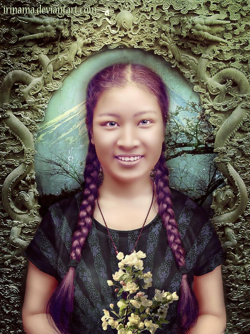 Greeting from China by irinama