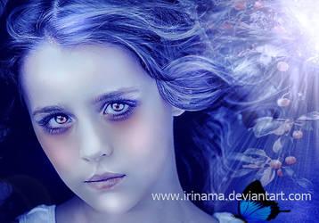 Little daughter of the night by irinama