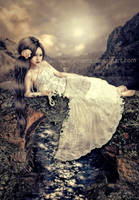 Romantic girl by irinama