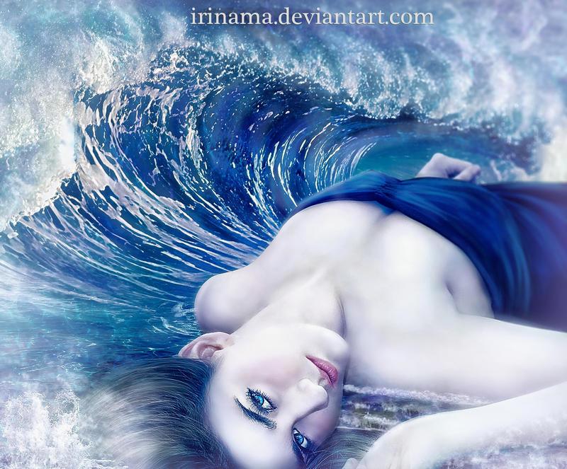 On the waves by irinama