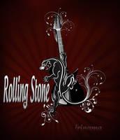 Logo Rolling stone by irinama