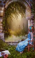 I am waiting for my love by irinama