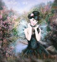 Oriental butterfly by irinama
