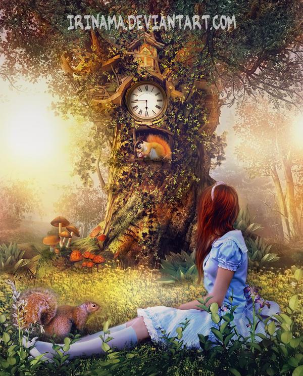 Magic forest by irinama