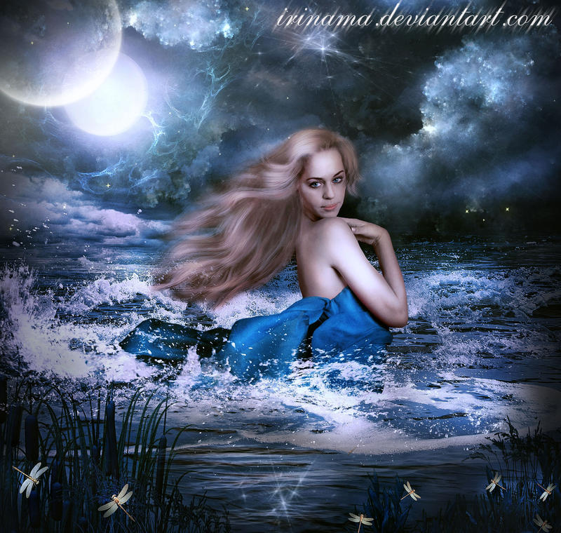 Running on the waves by irinama