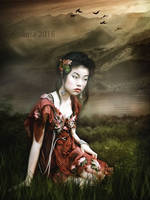 Orient girl by irinama