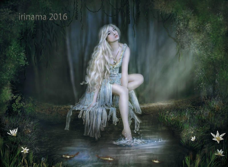 Forest Fairy by irinama