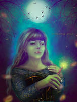 Bacchetta magica by irinama
