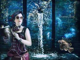 Steampunk in the aquarium by irinama