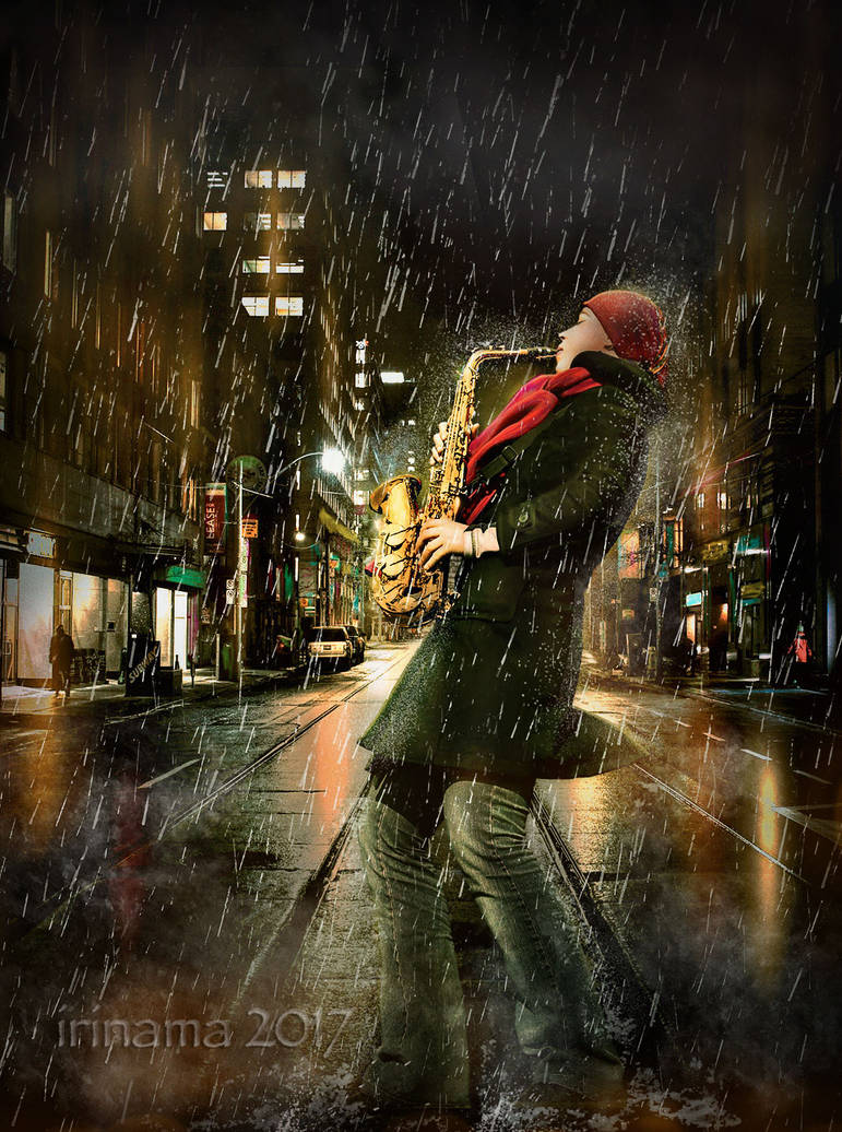 Music in the city by irinama