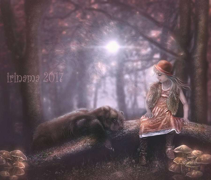 Masha and bear by irinama