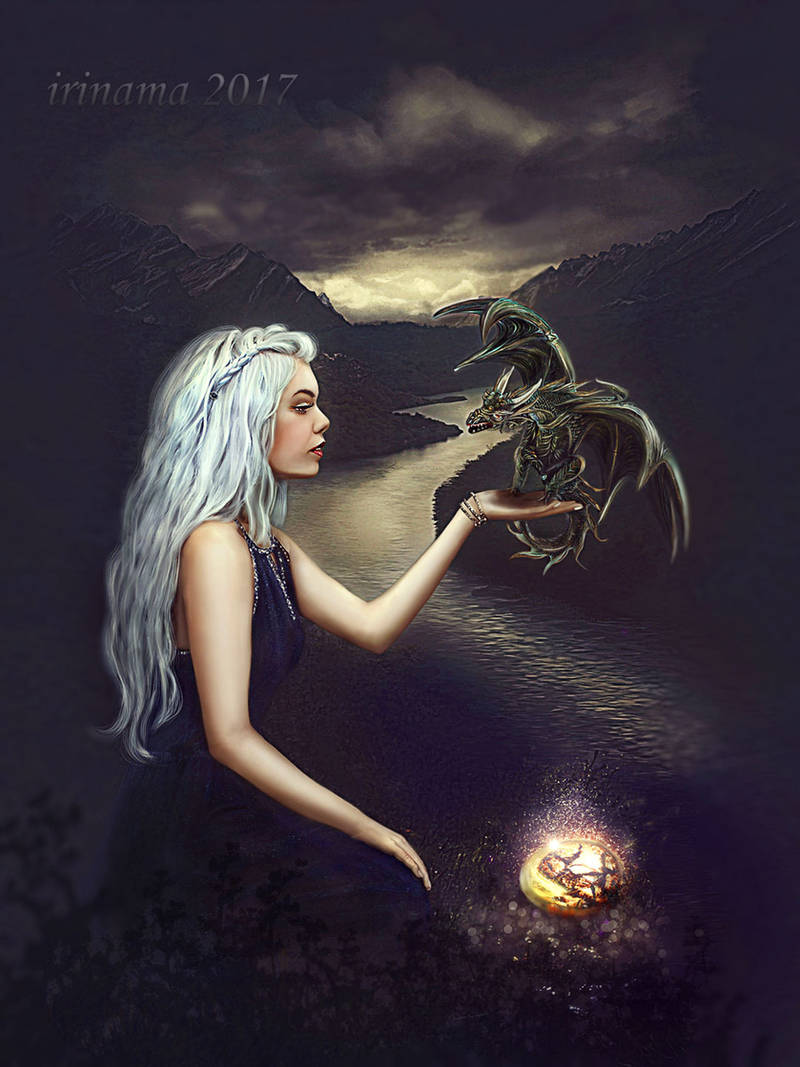 Dragon mother by irinama