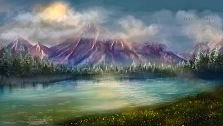 Mountains by irinama