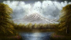 Landscape by irinama