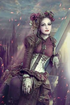 Steampunk Circus girl