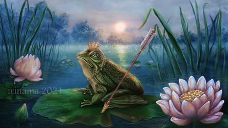Princess Frog by irinama
