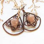 winter earrings - new tut