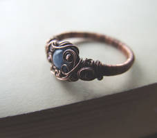 Kyanite Ring by Lethe007