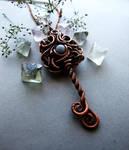 Key Necklace by Lethe007