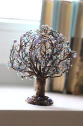 Winter Tree of Life Sculpture