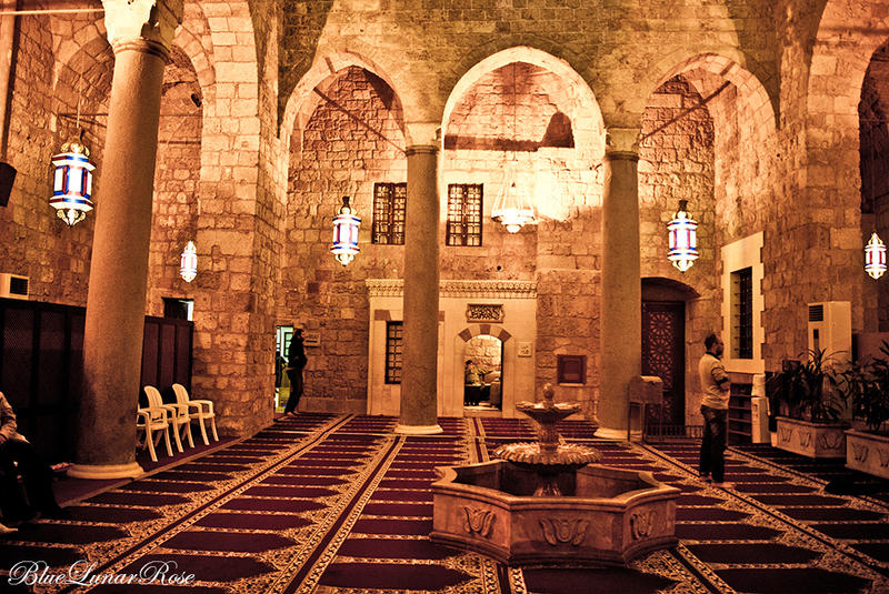 Prince Munzer Al-tanokhi Mosque, Downtown, Beirut by BlueLunarRose