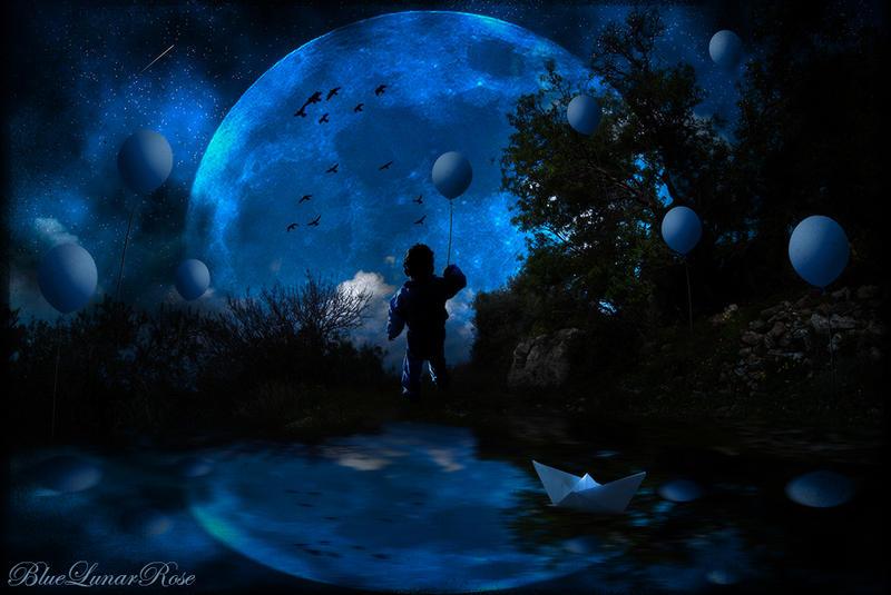Childhood Dreams by BlueLunarRose