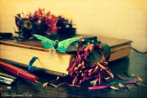 O little blue butterfly... tell me a dream... by BlueLunarRose