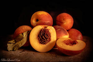 Peaches by BlueLunarRose