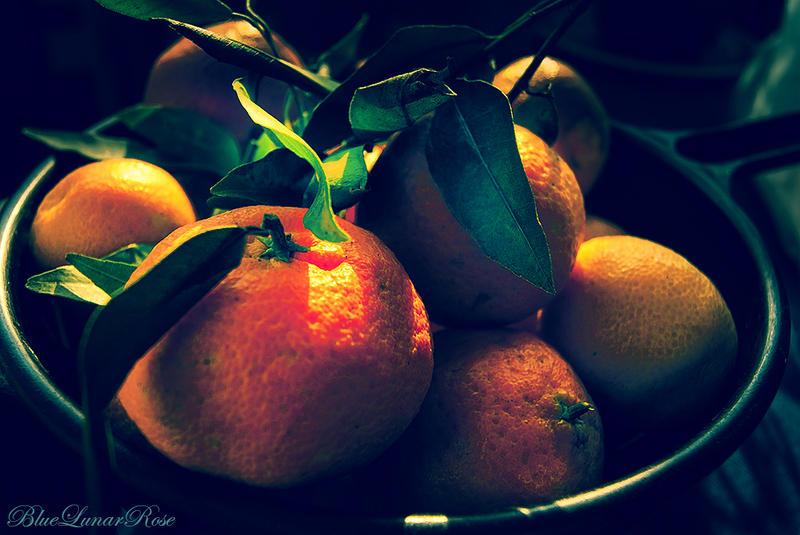 Mandarins by BlueLunarRose